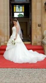 Wedding Dress Justin Alexander size 12
