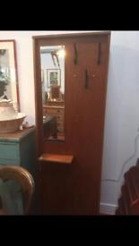 Vintage 1970s Teak Hall Coat Cupboard