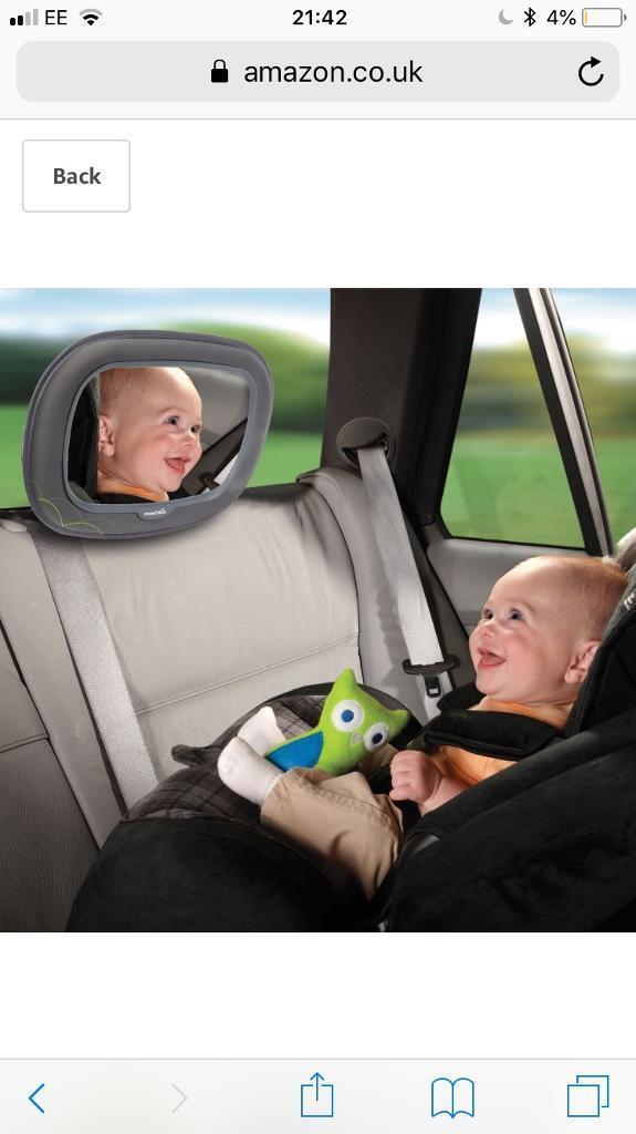 Baby Rear Facing Car Seat Mirror