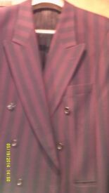 Stripe Jacket By Desch Of Germany Size to fit chest 44""