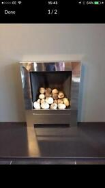 GAS FIRE ONLY £30 but requires parts costing £40 (see description)