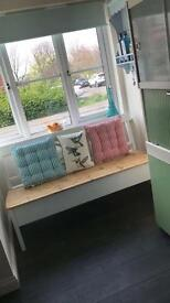 Bench indoor or out shabby chic