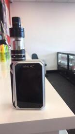 SMOK G-PRIV 220 watt Temperature Control Vape Kit with a TFV4 tank included