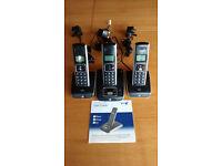 Cordless Phones – set of 3 BT Synergy 5500