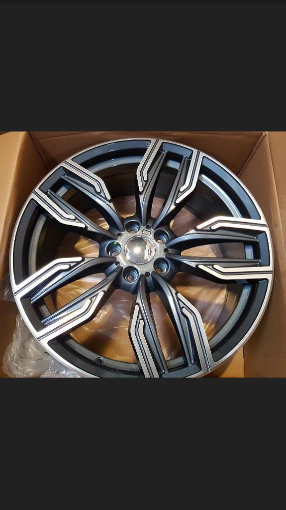 """18"""" 760m Style Alloy Wheel in Gunmetal staggered for BMW"""