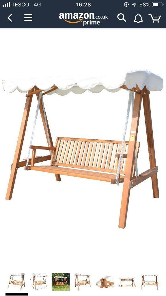 3 Seater Wooden Swing Seat In Ellon Aberdeenshire Gumtree
