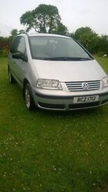 SOLD !!!! 2003 VW Sharan 7 seater SOLD,!!!!