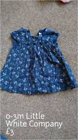 Beautiful dress in perfect condition 0-3m