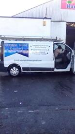 Vivaro Windows cleaning van