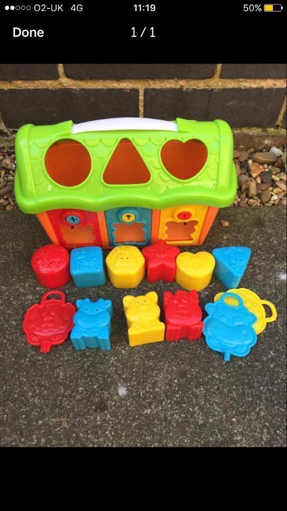 Shape Sorter toy colourfull