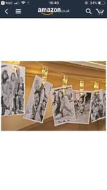 Photo clip string lights 20 clips