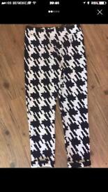 Size 12 ladies boohoo leggings brand new with tags