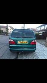 Ford galaxy 2.3 petrol very good condition full service history Tax&mot ready to drive away