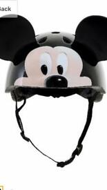 Mickey Mouse Cycle Helmet with ears 50-54cm
