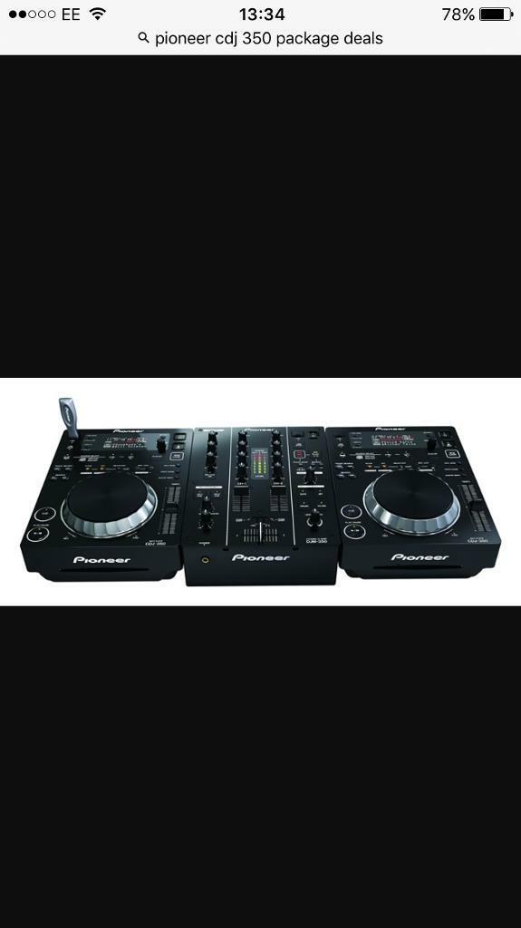 Decks and mixer inc flight casein Kings Lynn, NorfolkGumtree - 2x CDJ 350 decks, play all types of media, USB input and cd input. Very good condition. DJM 350 also in mint condition with 4 effects and all leads included. Flight case is blue not as pictured, only reason Ive used stock photos is Im away from home...