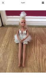 2 ballet dancer barbie dolls