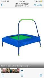 Sports power junior trampoline