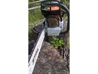 Stihl chainsaw, MS362, chainsaw