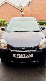 FORD FIESTA 1.4 ZETEC 2008 58reg LOW MILEAGE 1YRS MOT CLEAN&TIDY 3 MONTHS WARRANTY