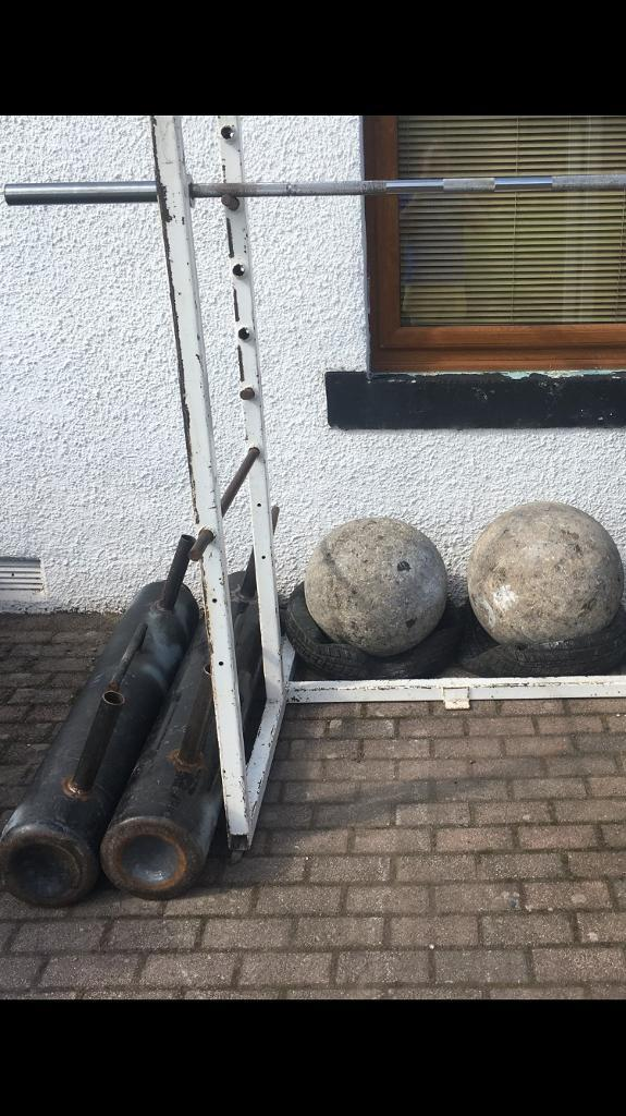 Strongman stuff for gym | in Dundee | Gumtree