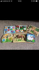 Toddler jigsaw bundle