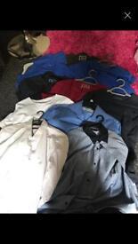 7 t-shirts 3 shirts all next