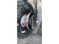 pit bike 125 fym xsport sandblaster road legal