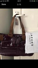 Stunning Jaeger leather bag