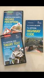 Motorbike Hazard Preception and Theory Test DVD