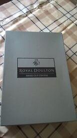 Royal Doulton Handcut Crystal Glasses (x6)