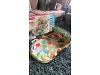 Fisher price 3-in-1 convertible car baby gym