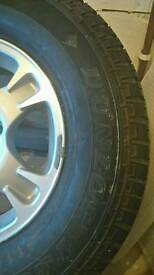 16 inch Shogun alloy and tyre brand new