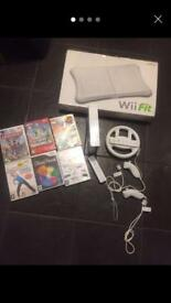 Nintendo wii 6x games and Wii fit board
