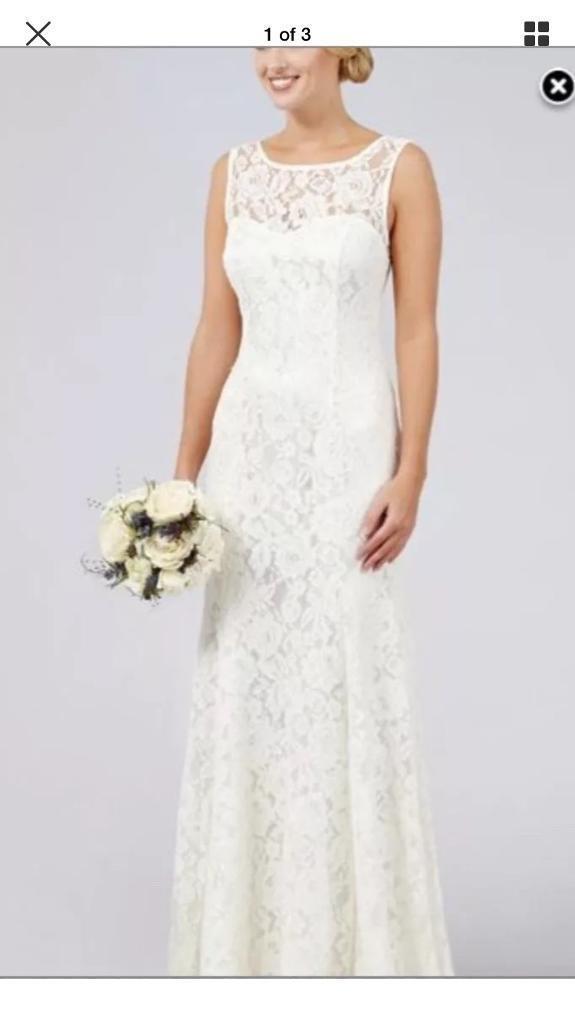 Debenhams Elaine Wedding Dress 8 | in Seaton, Devon | Gumtree