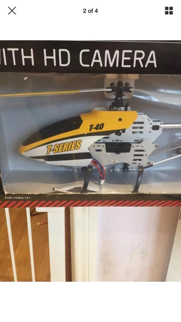 Remote control helicopter with HD