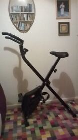 Exercise Bike, Folding, almost new
