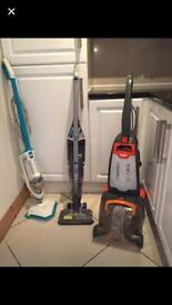 Vax carpet cleaner and wireless Hoover