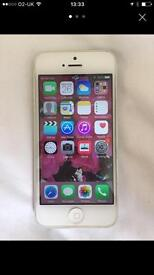 iPhone 5 white immaculate