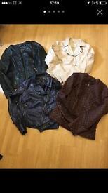 Ladies jackets sizes 12-14