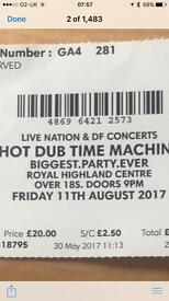 2 hot dub time machine tickets