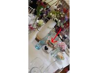 Glass Candle Holders Glass Jars Flower Jugs for Centre Pieces Wedding Decoration