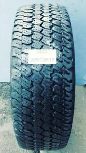 PNEUS ÉTÉ USAGÉS / USED SUMMER TIRES 265/70R17 26570R17 GOOD YEAR WRANGLER (2 DE DISPONIBLES)