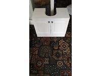 pedistal basin cupboard