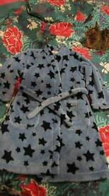 Boys M&S Dressing Gown. Age 6-7yrs