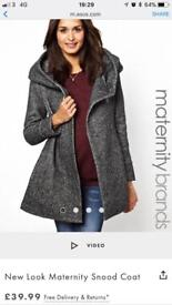 Maternity coat - size 10