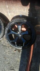 ford fiesta zetec 17 inch wheels and tyres