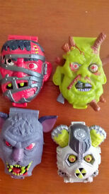 MIGHTY MAX 4 original HORROR HEADS