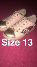 Kids trainers size 13