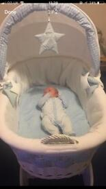 Baby basket by my sweet baby