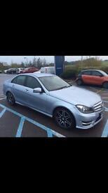 Mercedes C 200 blueEFiCiEnCy AMG sport plus